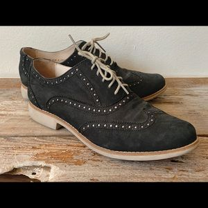 Cole Haan Lace Up Wing Tip Oxfords